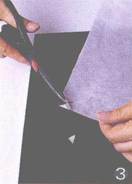 烘焙烤盘用纸裁剪方法
